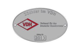 Züchter im VDH Emblem